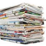 Vital records in newspapers