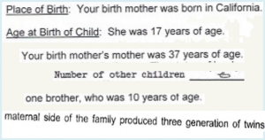 Find Birth Family Census