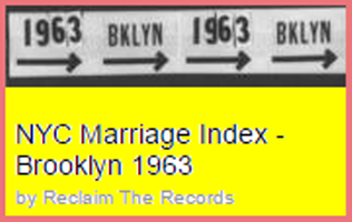 NYC marriage index reel